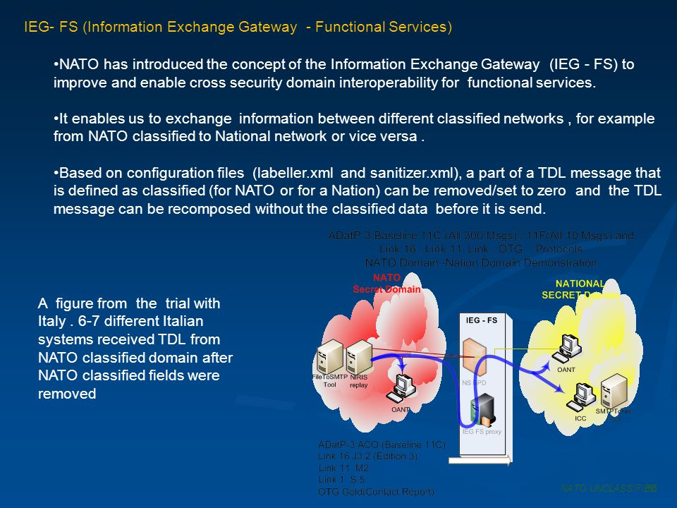 IEG- FS (Information Exchange Gateway - Functional Services)