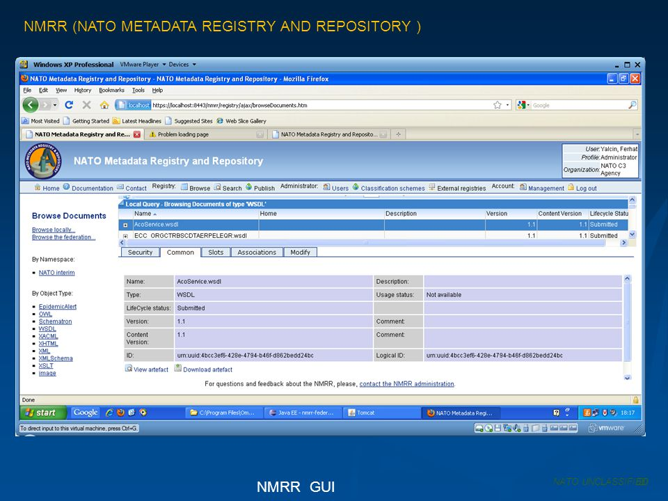 NMRR (NATO METADATA REGISTRY AND REPOSITORY )
