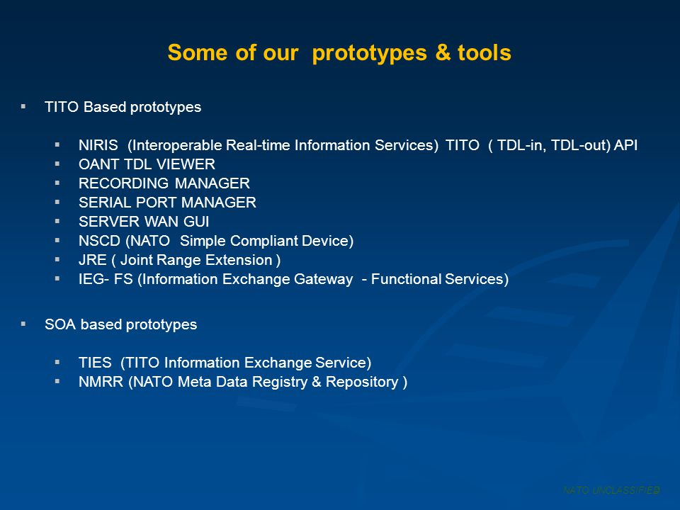 Some of our prototypes & tools