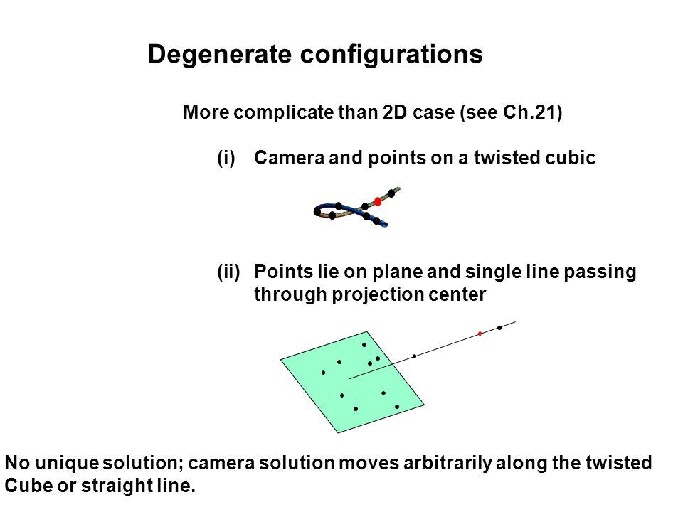Degenerate configurations