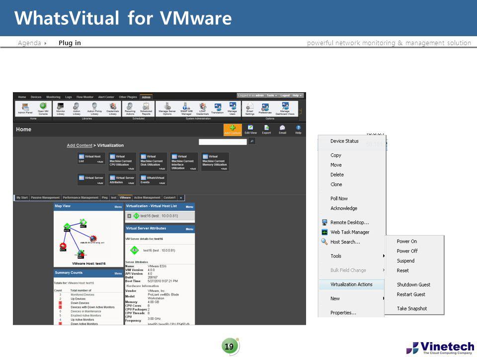 WhatsVitual for VMware