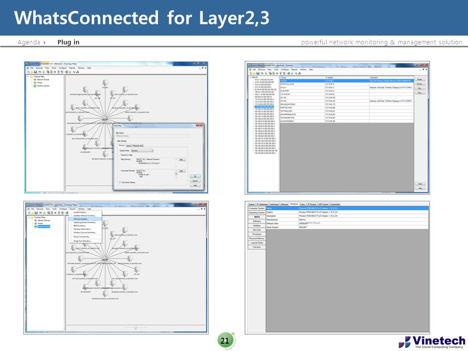 WhatsConnected for Layer2,3