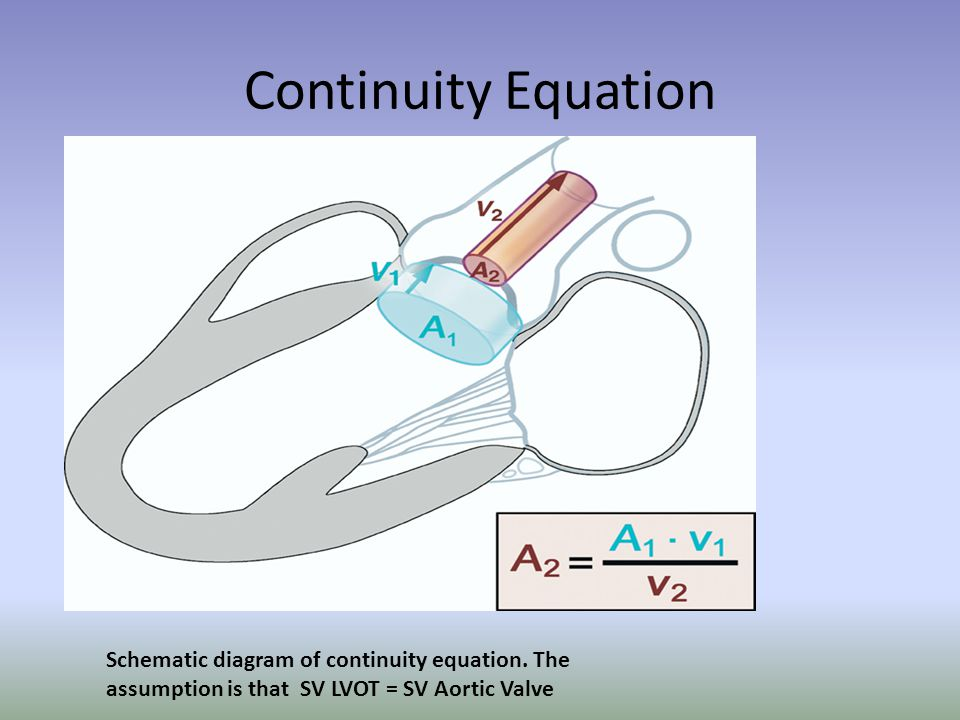 Continuity Equation Schematic diagram of continuity equation.