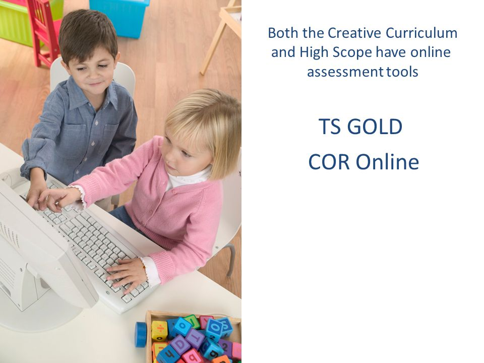 TS GOLD COR Online Both the Creative Curriculum