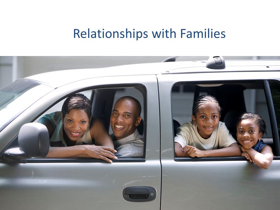 Relationships with Families
