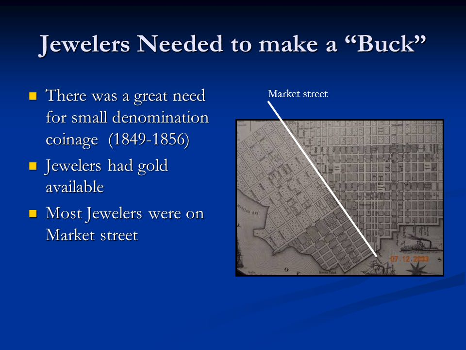 Jewelers Needed to make a Buck