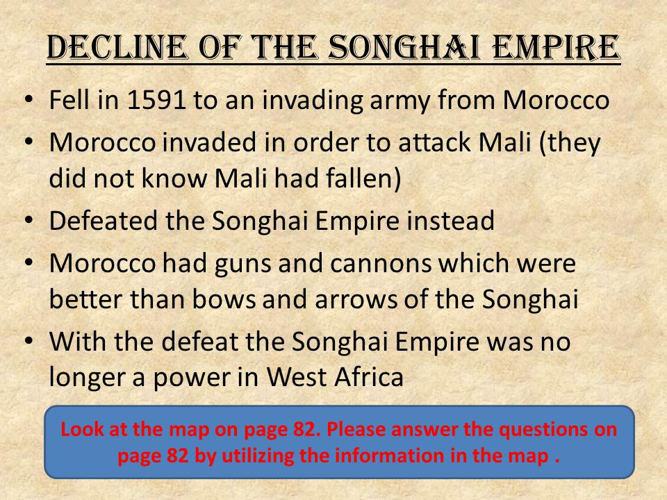 Decline of the Songhai Empire
