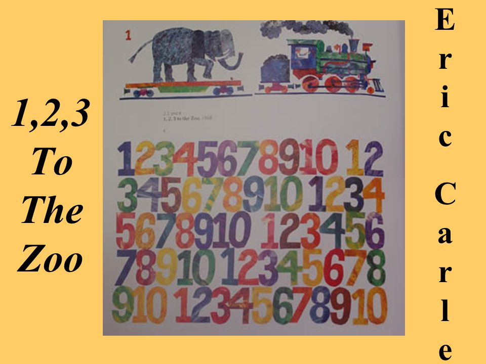 Eric Carle 1,2,3 To The Zoo