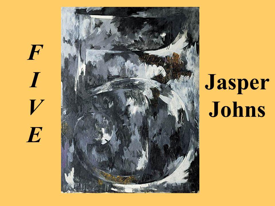 Jasper Johns FIVE