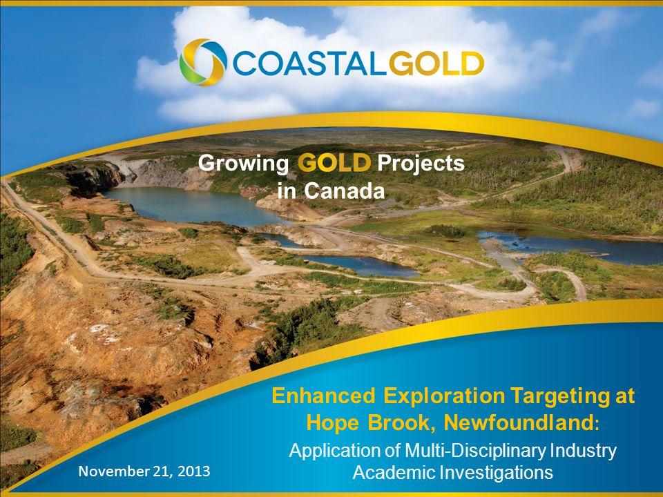 Enhanced Exploration Targeting at Hope Brook, Newfoundland: