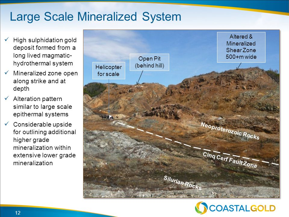 Large Scale Mineralized System