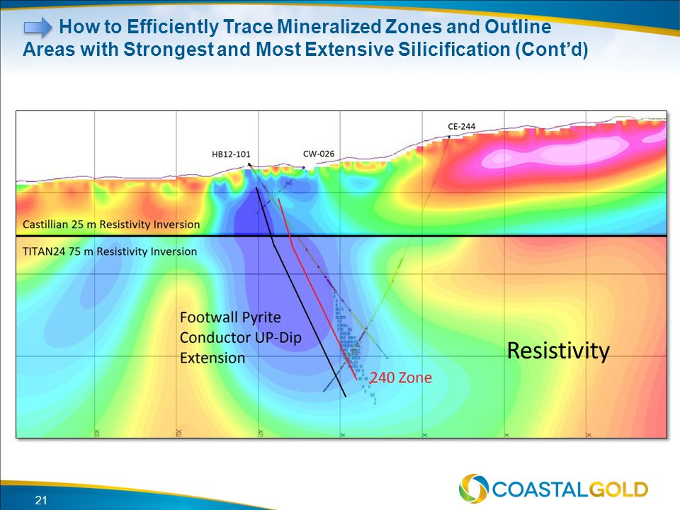 How to Efficiently Trace Mineralized Zones and Outline Areas with Strongest and Most Extensive Silicification (Cont'd)