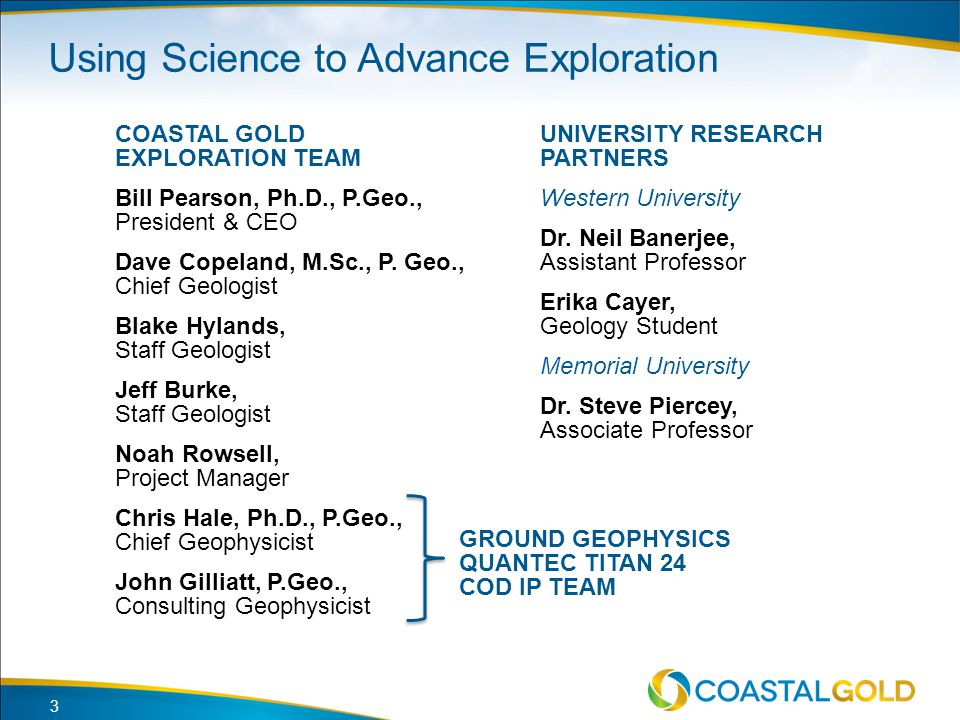 Using Science to Advance Exploration