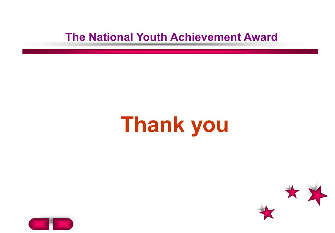 The National Youth Achievement Award