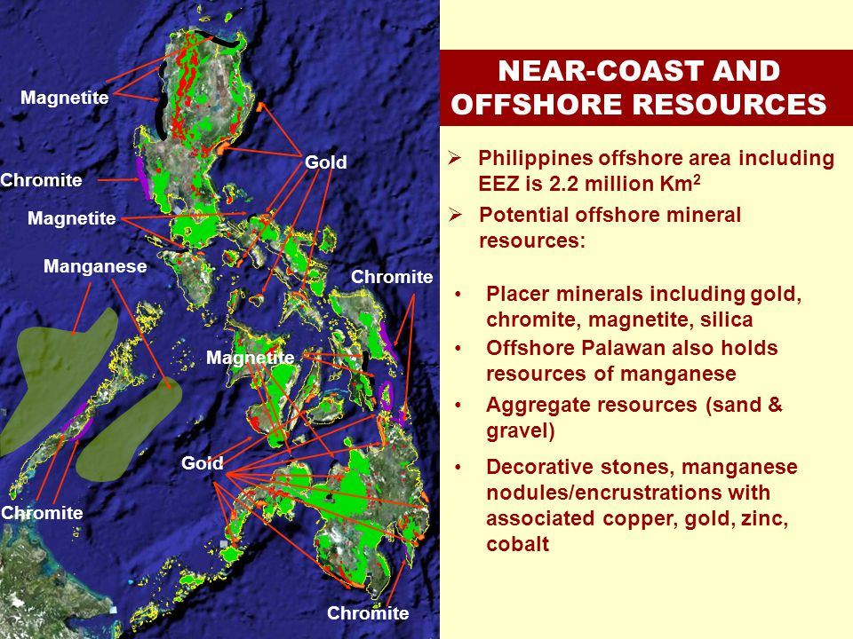 NEAR-COAST AND OFFSHORE RESOURCES