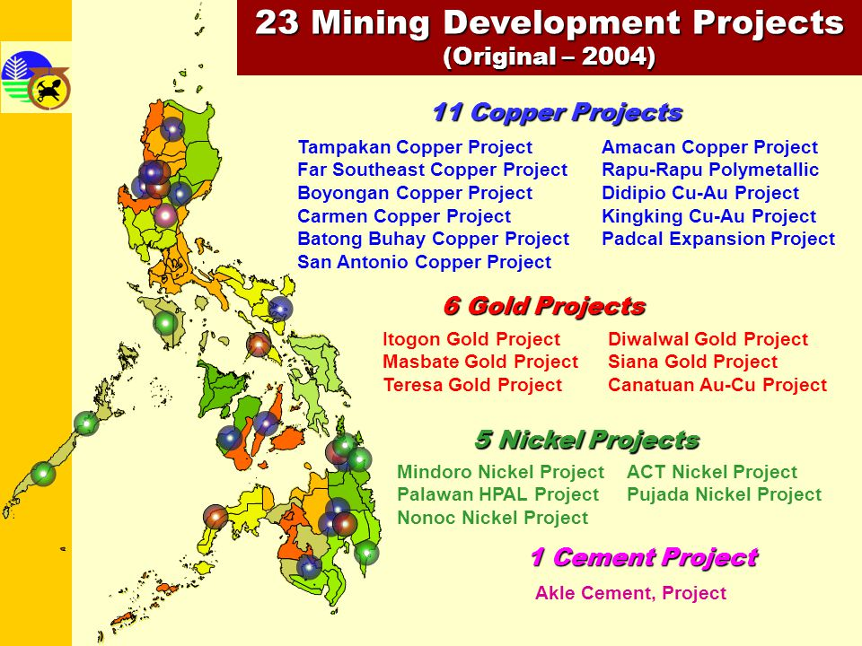 23 Mining Development Projects