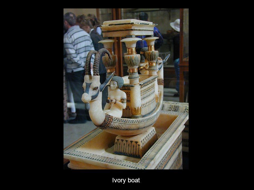 Ivory boat