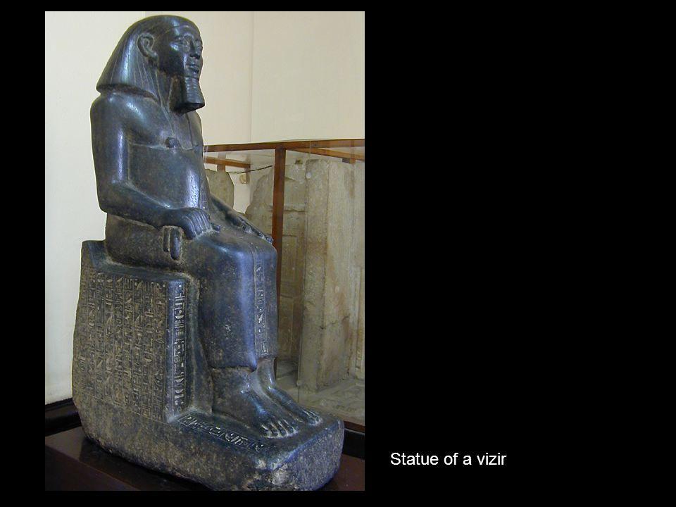 Statue of a vizir