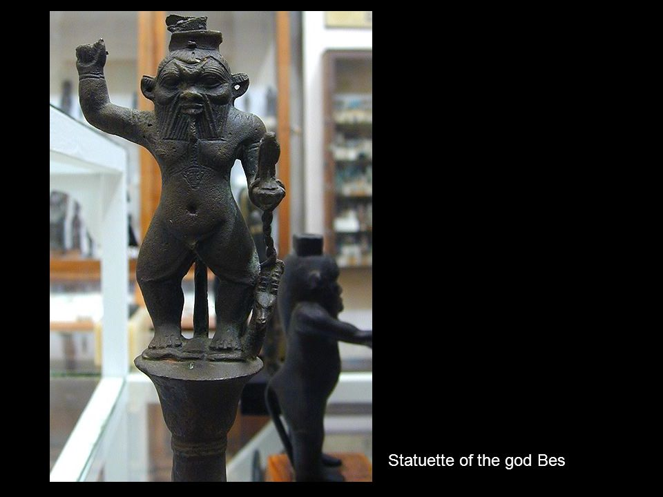 Statuette of the god Bes
