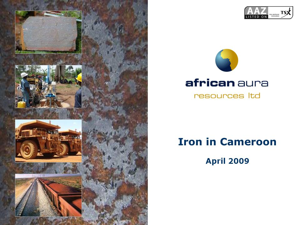 Iron in Cameroon April 2009