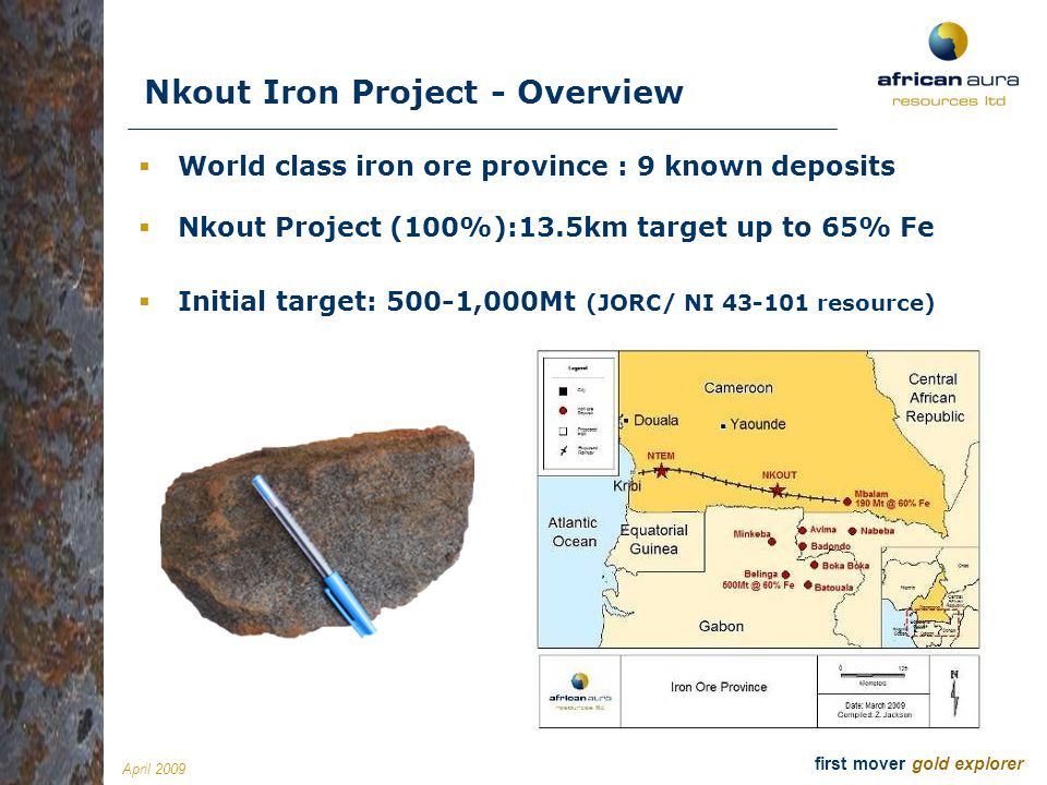 Nkout Iron Project - Overview
