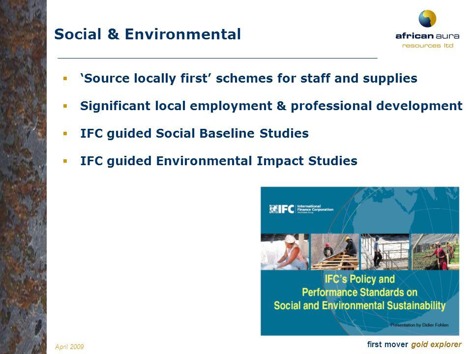 Social & Environmental