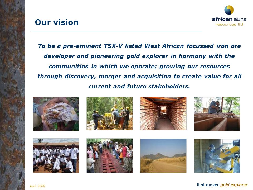 Introduction Our vision