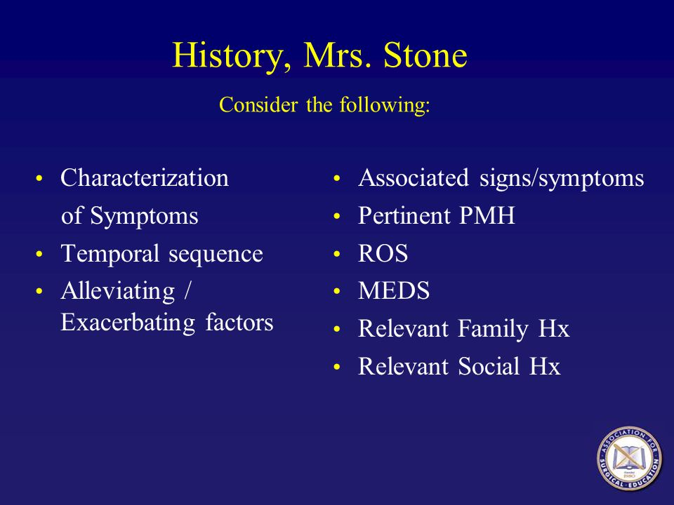 History, Mrs. Stone Consider the following: