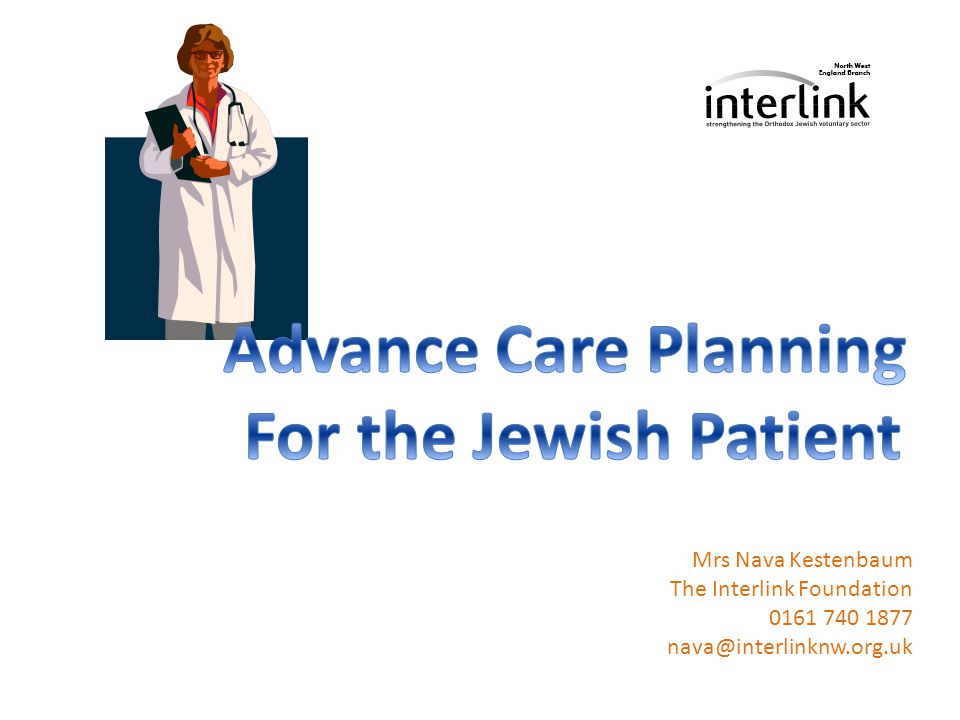 Advance Care Planning For the Jewish Patient