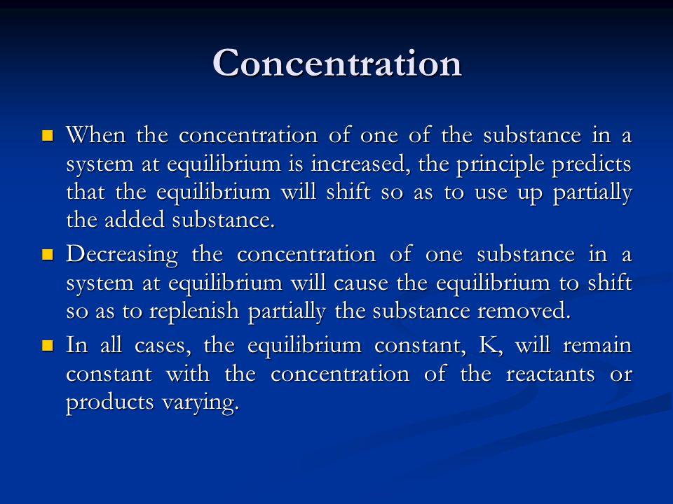 Concentration