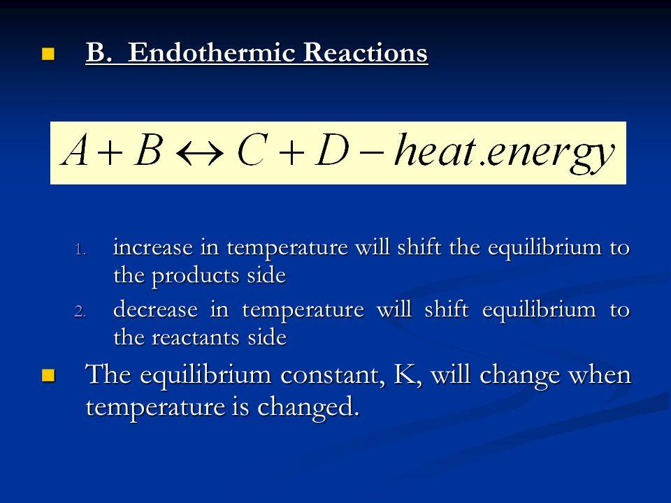 B. Endothermic Reactions