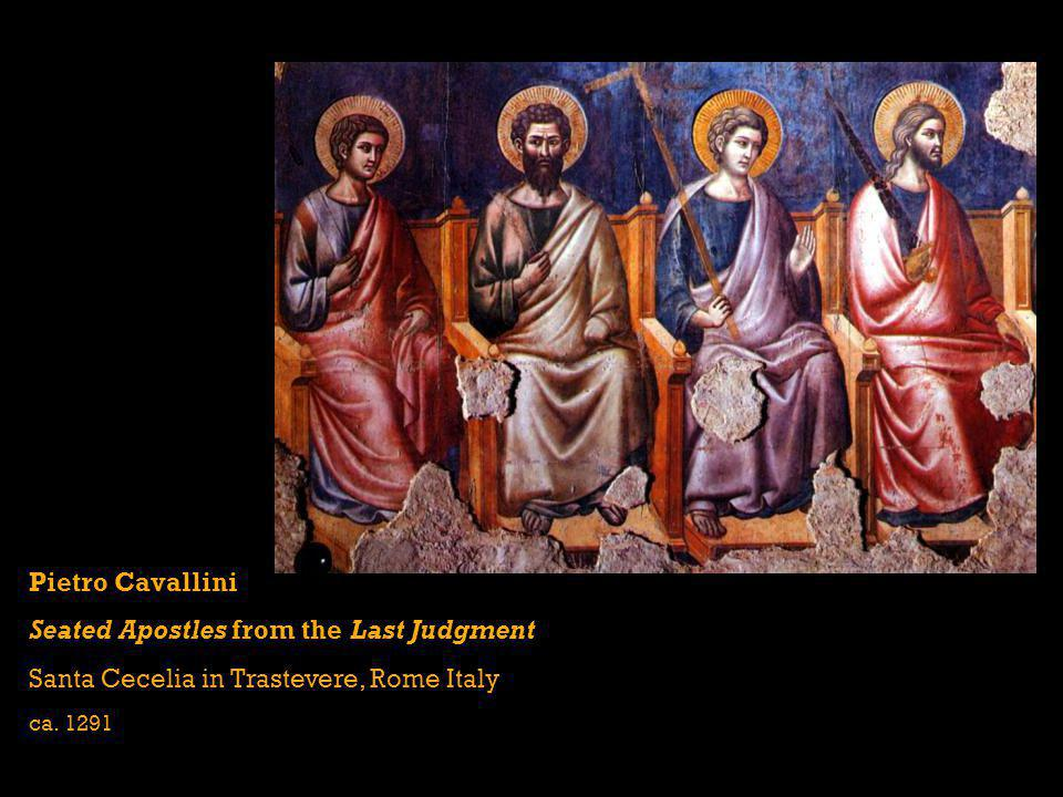 Seated Apostles from the Last Judgment