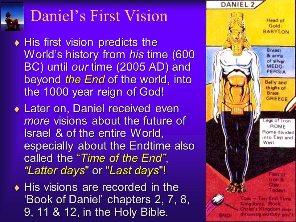 Daniel's First Vision