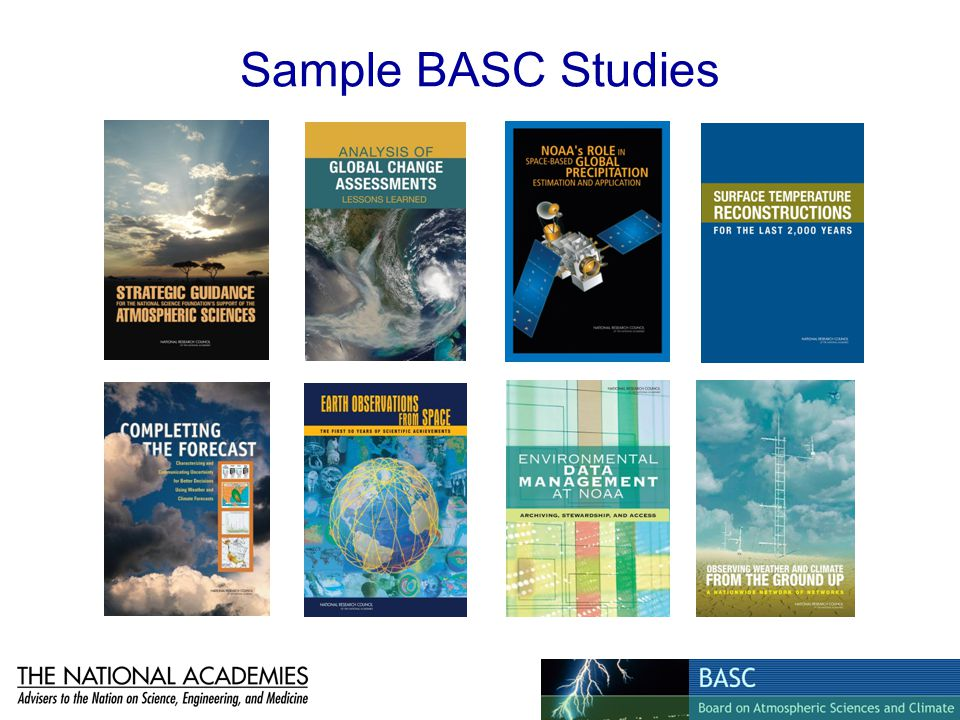 Sample BASC Studies
