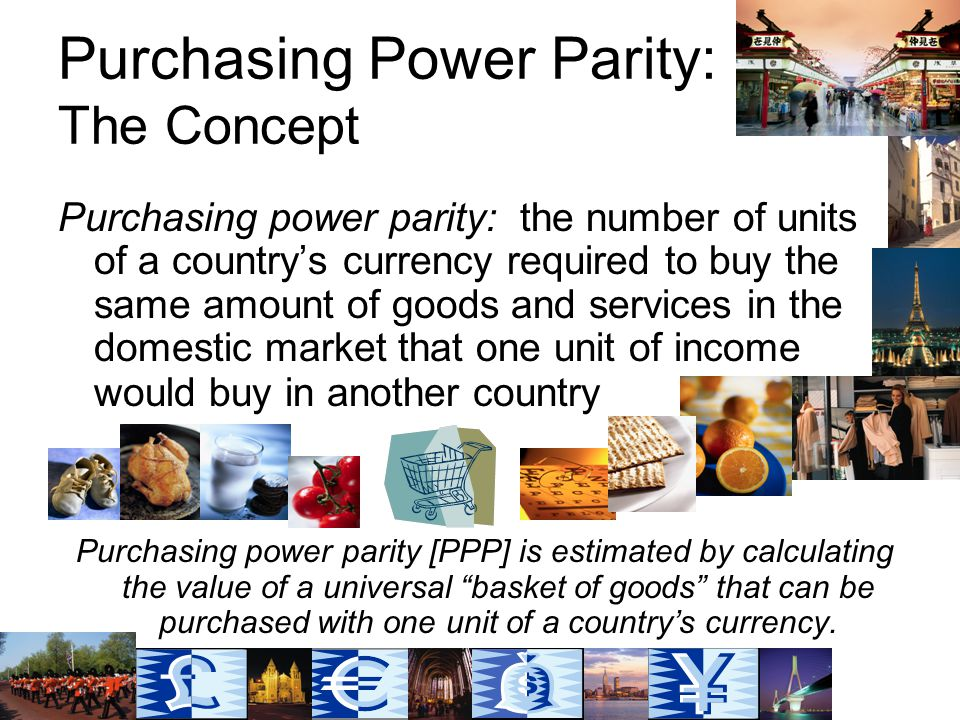 Purchasing Power Parity: The Concept