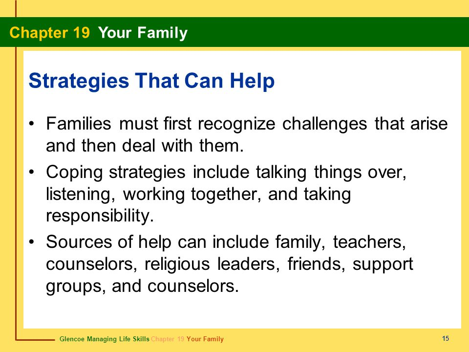 Strategies That Can Help