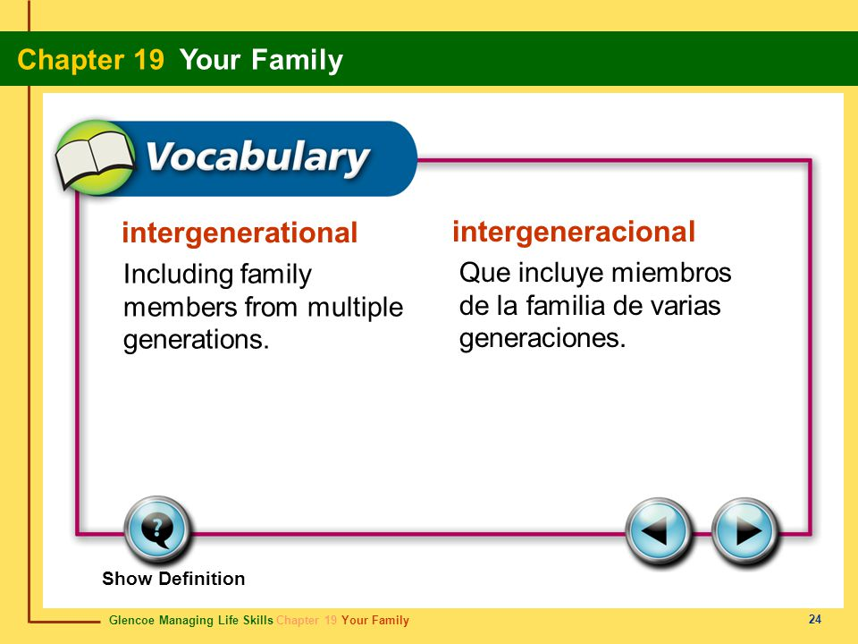 intergenerational intergeneracional