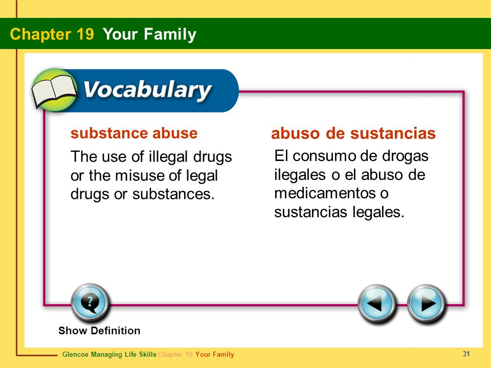 abuso de sustancias substance abuse