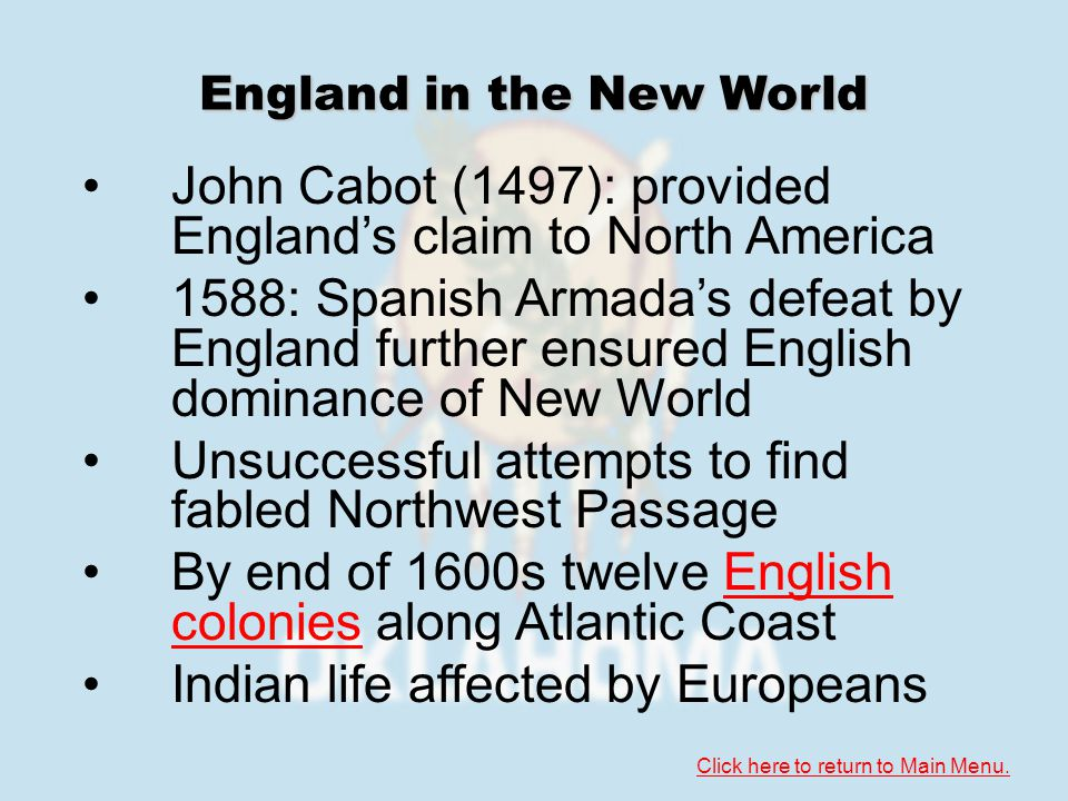 Section 2: European-Indian Contact