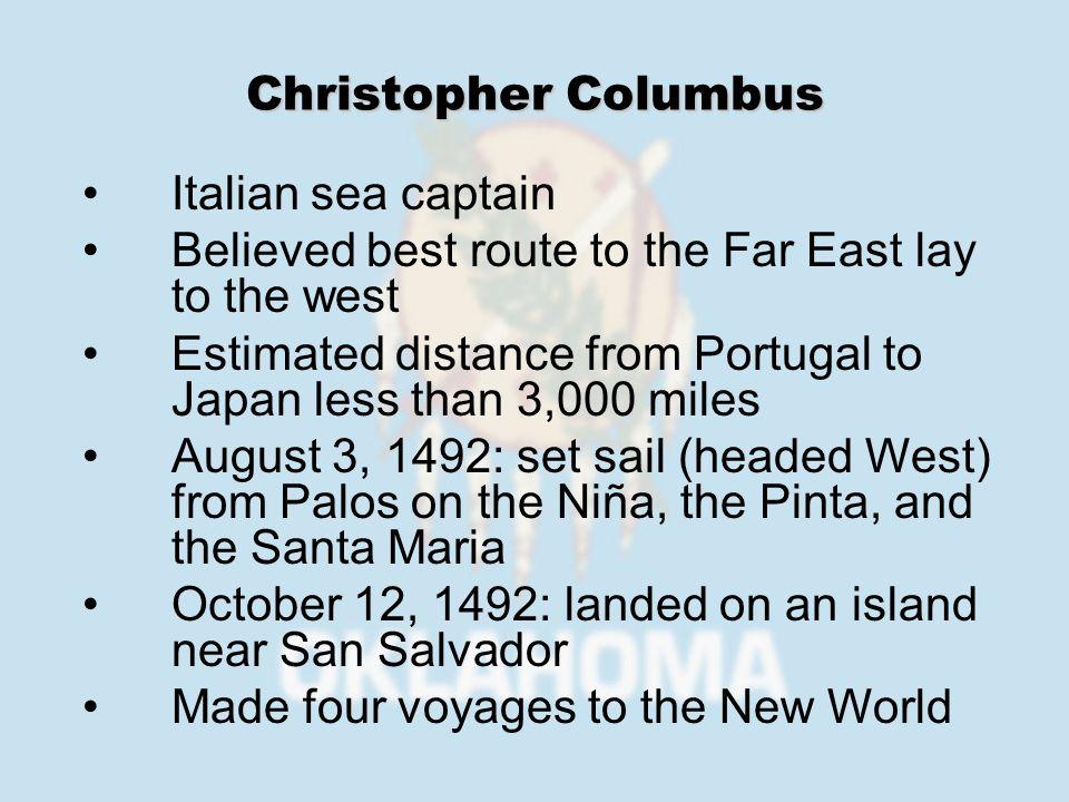 1497: John Cabot landed in Newfoundland