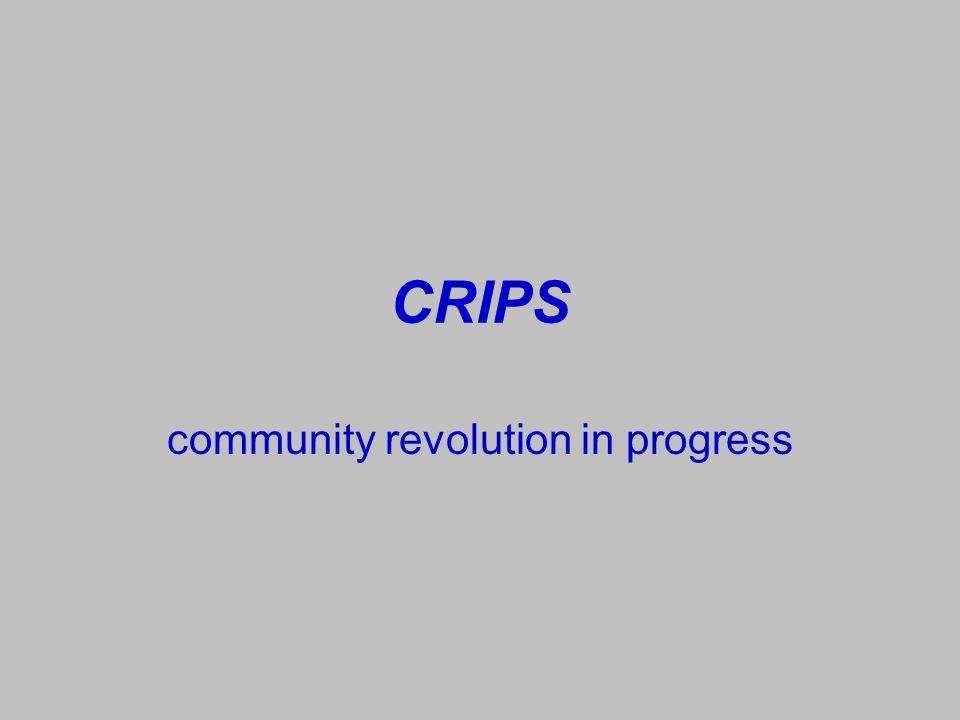 community revolution in progress