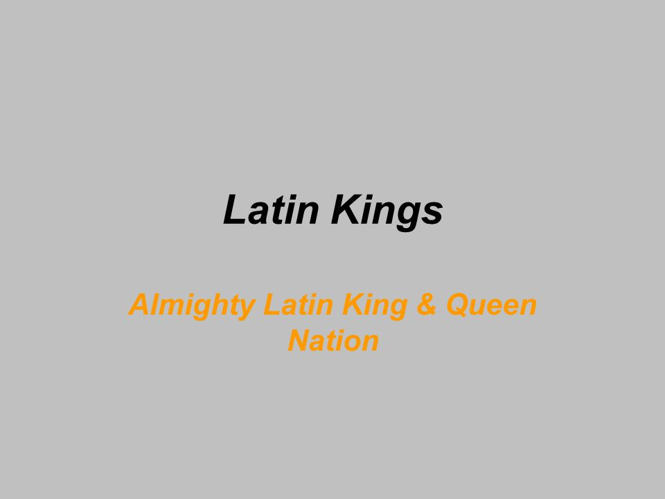 Almighty Latin King & Queen Nation
