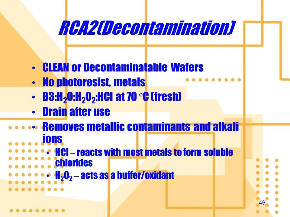 RCA2(Decontamination)