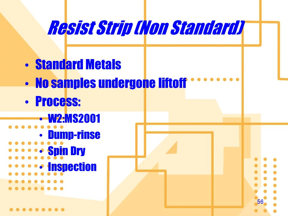 Resist Strip (Non Standard)