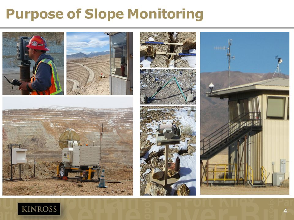 Purpose of Slope Monitoring