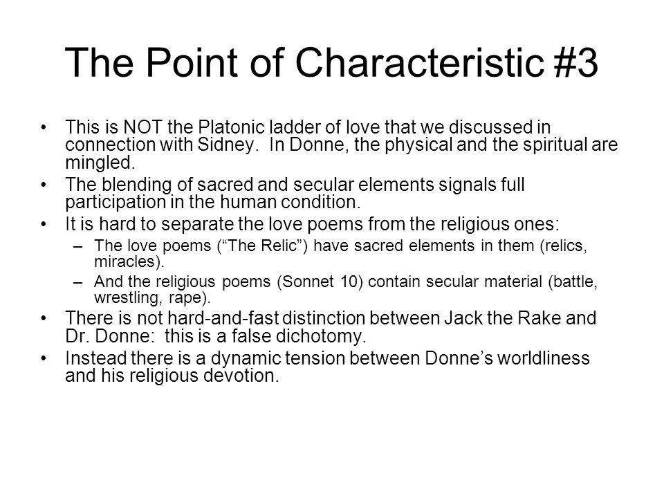 The Point of Characteristic #3