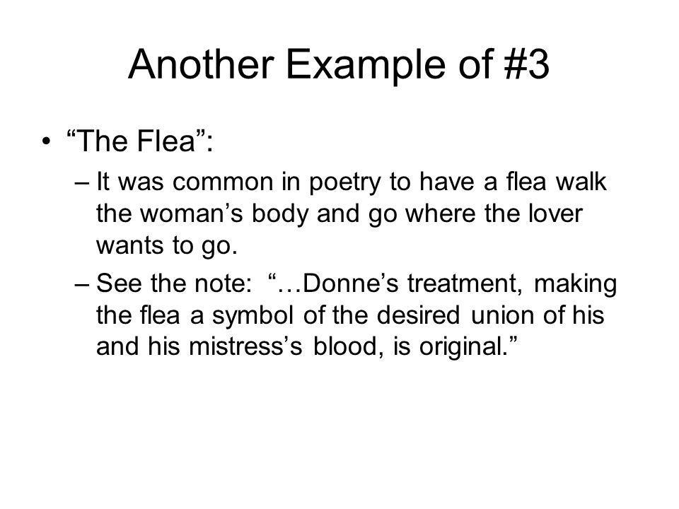 Another Example of #3 The Flea :