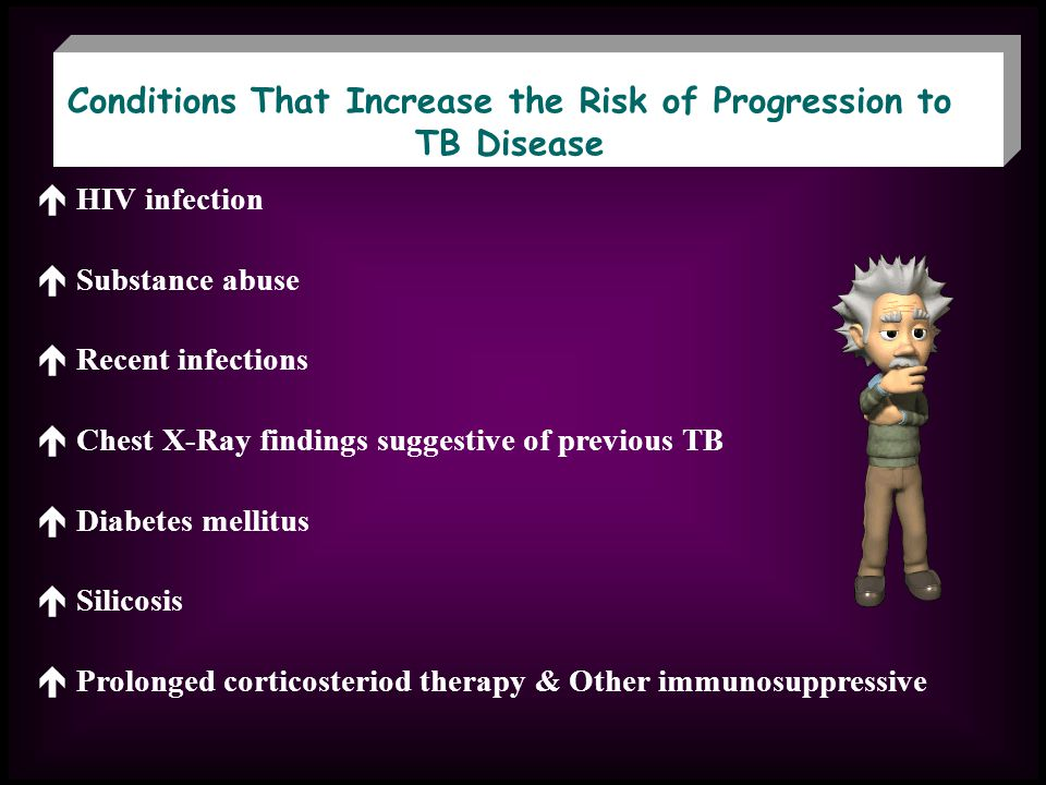 Conditions That Increase the Risk of Progression to TB Disease
