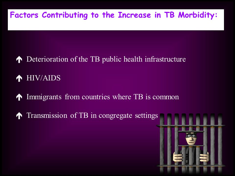 Factors Contributing to the Increase in TB Morbidity: