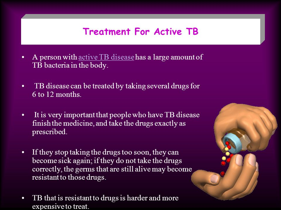 Treatment For Active TB